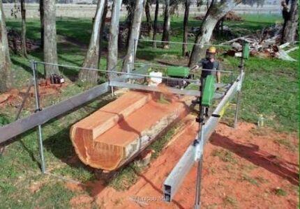 Mobile Lucas Sawmill Service