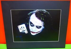 """THE JOKER"" - Printed Art 20x16"" Matte Black Board is 3"""