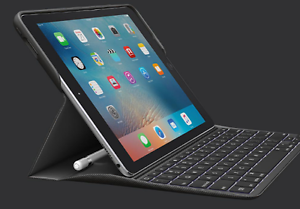 As new iPad Pro 9.7 Cellular + Wifi & Logi Create Backlit keyboar Chermside Brisbane North East Preview