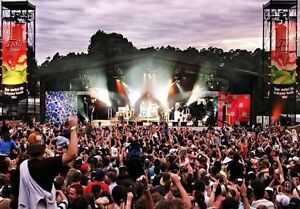 2x 3 day falls festival pass + camping ticket Swansea Lake Macquarie Area Preview