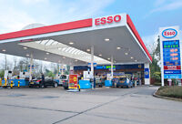 Two Cashier positions open in the ESSO gas station.
