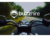 Scooter and Motorcycle Couriers - up to £17/hr - BuzzHire