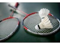 BADMINTON PLAYERS WELCOME