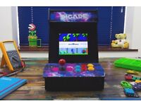 'PICADE' BAR TOP ARCADE MACHINE - FULLY ASSEMBLED & READY TO PLAY (BRAND NEW)