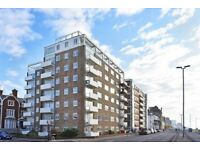 Lovely 1 bedroom flat on Hove seafront, heating and hot water included in rent