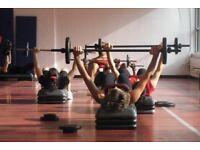 Pump/weights fitness class Southbourne