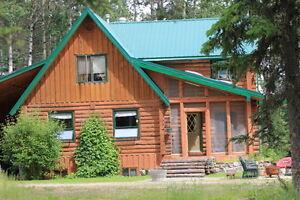 Beautiful Executive style Log home