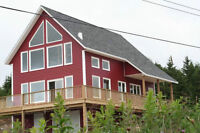BEAUTIFUL  NEW  SEASIDE  HOUSE ONE HOUR FROM  ST. JOHN'S