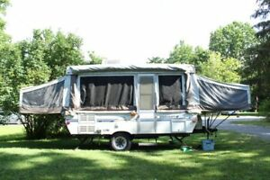 2002 Starcraft hard top trailer
