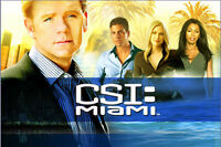 coffret  CSI MIAMI