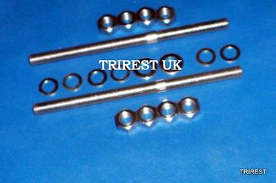 TRIUMPH PRE UNIT TRW  TR5 TROPHY SEAT SPRINGS TO FRAME FITTINGS 82 F
