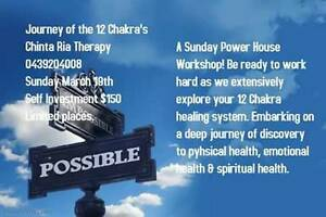 Journey of the 12 Chakra;s Work Shop! Irymple Mildura City Preview
