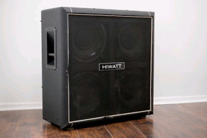 70's Hiwatt 412 Cab w/ UK Greenbacks