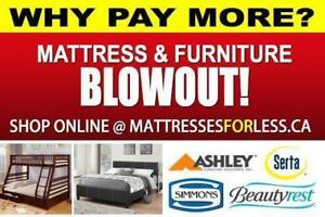 THE BEST DEAL ON THESE MATTRESSES - LOWEST PRICES IN CALGARY