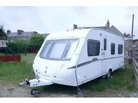 2007 Abbey vogue 495 4 berth VGC including mover and awning, water carriers and the electric cable