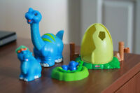 Ensemble Little People Dinosaure