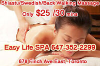 $65 for 1 hour RMT massage at easy life spa