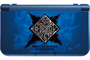 New 3DS XL Monster Hunter Generations Edition