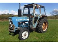 FORD 3600 LOW HOURS FULLY WORKING 1977 TRACTOR SEE VIDEO CAN DELIVER NO VAT
