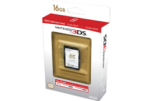 Nintendo Brand 16GB 3DS/2DS/Wii Memory Card