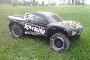 hpi baja sc 1/5 gasoline rc truck plus other items