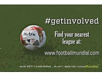 Six a side Football Teams needed in Sevenoaks