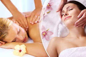 Facials , waxing , massage.  (Home based spa for females)