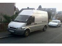 wanted ford transit non runners