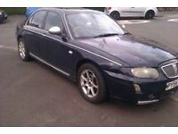 REDUCED ROVER 75 CONNISEUR BLUE LONG MOT LOTS OF MONEY SPENT ,£625 ONO