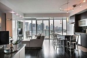 ONE BEDROOM IN HARBOURFRONT, HIGH END BUILDING w/STUNNING VIEWS