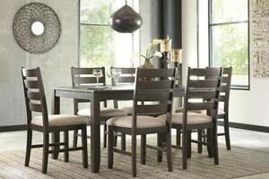 Brand New Ashley 7 Piece Dinette Set - Payment Plan