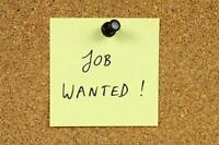 University Graduate Seeking Employment Clerical Office Help