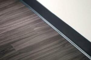 Iso rubber baseboards
