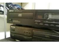 Titan cd player&technics cd player