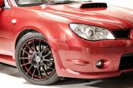 """18"""" Speedy wheels and tyres 5x100 suitable for Subaru and Toyota Penrith Penrith Area Preview"""