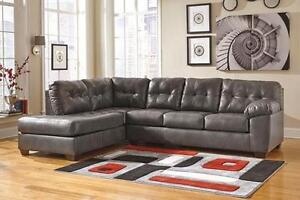 Brand New Ashley Durablend Sectional - Payment Plan