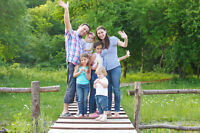 Happy family needed to act in professional video