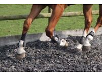 Equestrian Chippings, Horse Arena Rubber Chippings- 1000KG £59.99
