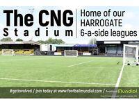 Harrogate 6 a side leagues - Places available now!!