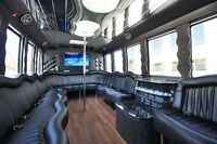 Party Limo Bus for wedding 30% off on advance reservation