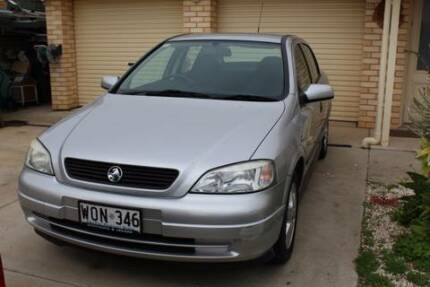 2001 Holden Astra 1.8 CD TS  Low KMs