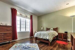 Housse de couette pour lit simple, couverture, rideau, cadres West Island Greater Montréal image 2