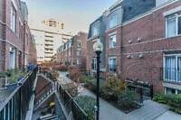 UPGRADED 2-storey townhouse with SKYLINE ROOFTOP BBQ PATIO