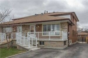 Semi Detached Backsplit home in Toronto with Two bsmt apts