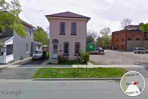 Large 4brm house steps from downtown.  Avail any time
