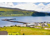 Isle of Skye, The Bakur Bar/Pier Restaurant are now seeking full time bar and waiting staff.