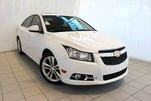2012 CHEVROLET CRUZE LT TURBO AUTO, RS, TURBO, MAGS, TOIT,