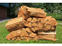 Firewood logs kiln dried free delivery - ideal for all woodburning stoves and open fires