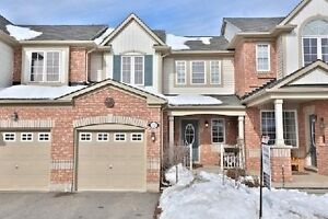 3 BR Towhouse in Milton near Derry Road/Bronte St. South