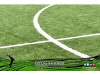 Doncaster 6 a side league - New season starts soon, teams needed